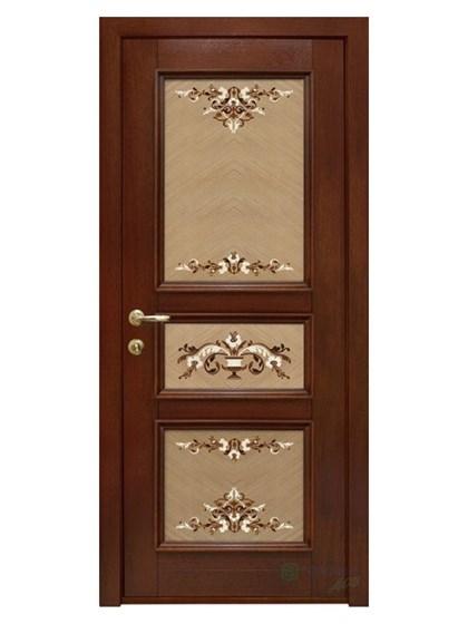 Дверь межкомнатная Интарсия ДГ 02 - фото 5399