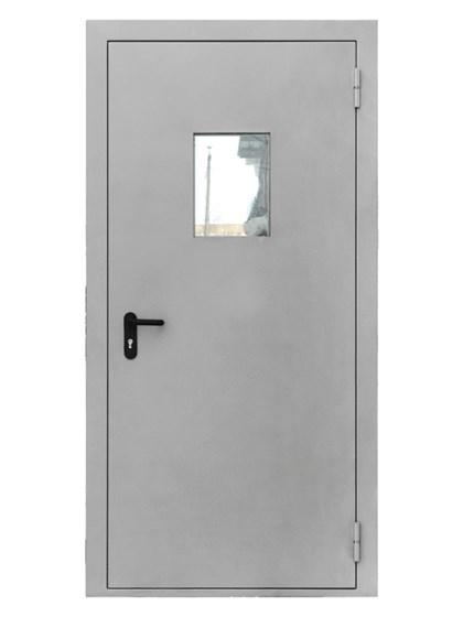 Дверь противопожарная однопольная EIS 60 с остеклением - фото 6200