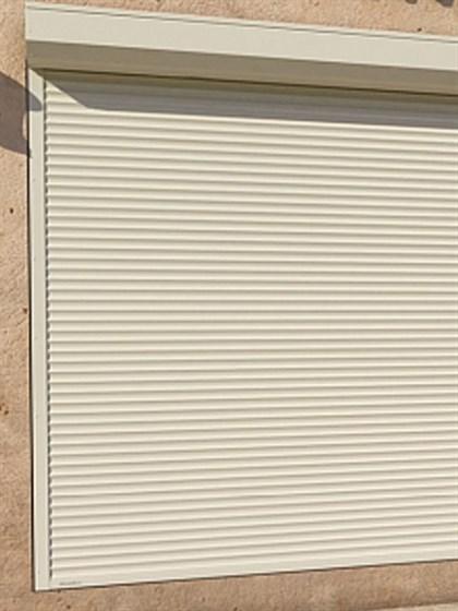 Рольставни витринные из стальных профилей - фото 8607