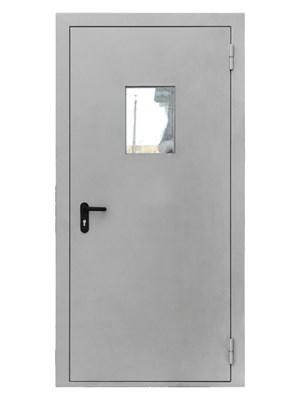 Дверь противопожарная однопольная EIS 60 с остеклением
